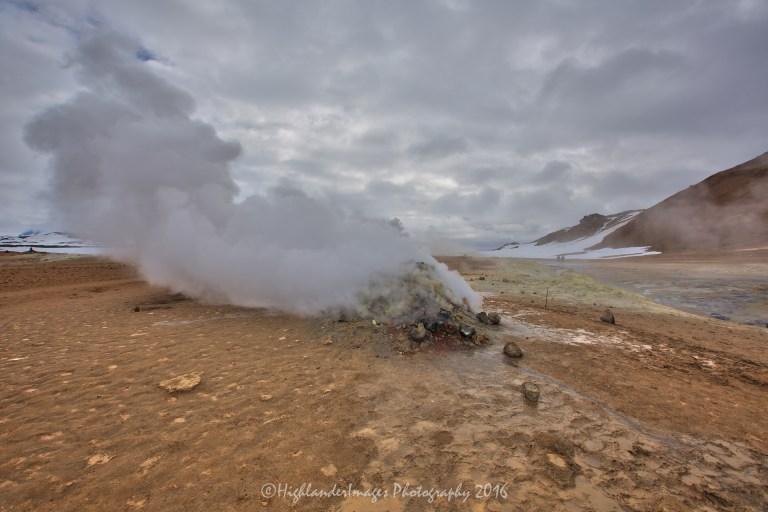 Namafjall Hverir, Myvatn, Iceland