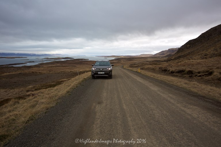 On the road between Budardalur and Stykkisholmur, Iceland