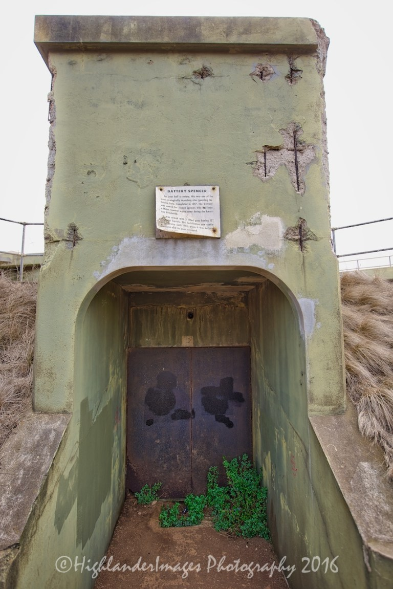 Ridge Battery, Golden Gate Bridge, San Francisco, California.