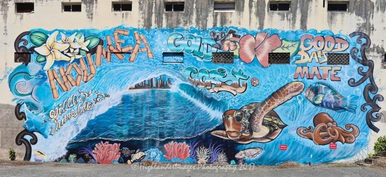 Graffiti, Noumea, New Caledonia