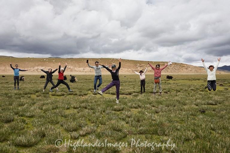 Zhagangqu Plateau, Road from Shigatse to Namtso Lake, Tibet