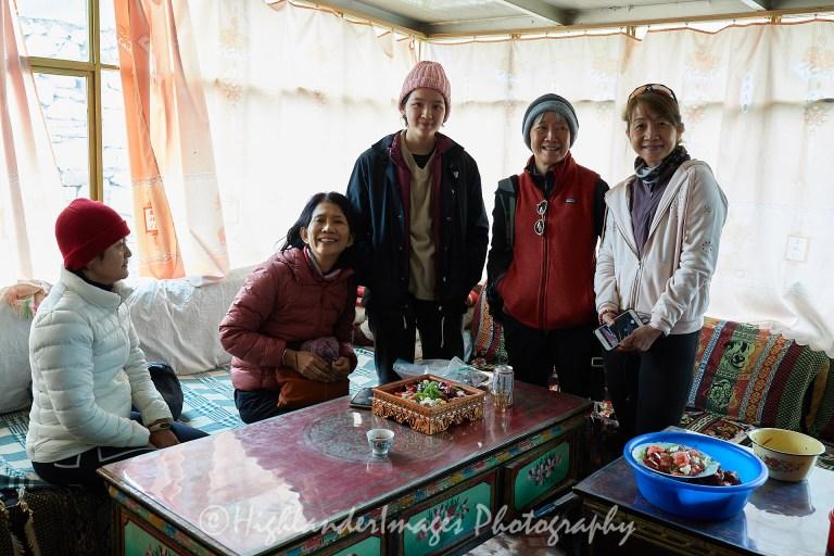 Nomadic Villagers House in Laduocun, Tibet