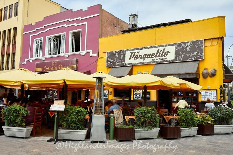 El Parquetito Restaurant, Lima, Peru