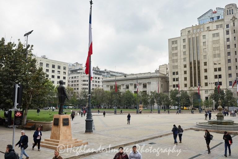 Constitution Plaza, Santiago, Chile