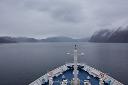 Sailing from Flåm to Geiranger, Norway aboard Marco Polo