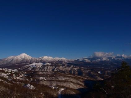 ビーナスラインから望む八ヶ岳のパノラマ