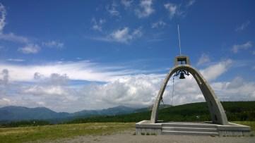 霧ヶ峰山頂の鐘