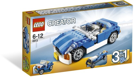6913 Creator Blue Racer