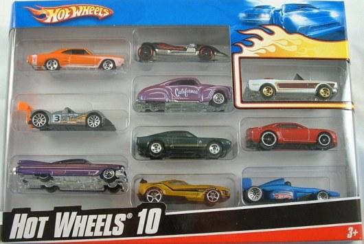 Hot Wheels 10 Pack