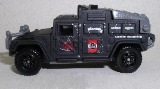 mb506 Hummer Police