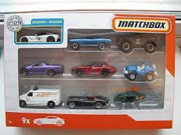 Matchbox 9 packs