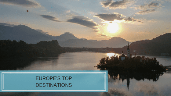 Top Destinations in Europe for 2019
