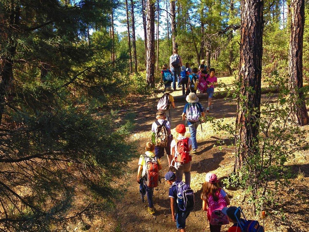 kids during a summer camp