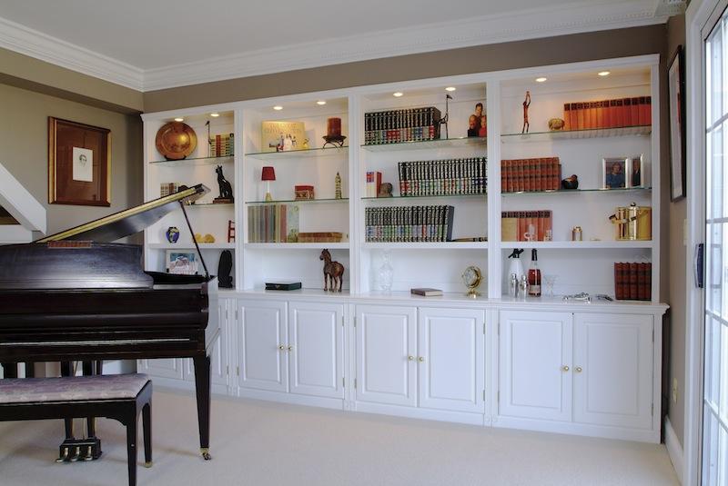 Custom Cabinets, Bookcases, Built-ins, Bookshelves
