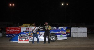 late model winner chad zobrist
