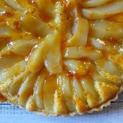 Kitchen Classics Denver Amish Cabinets French Pear Tart Bourdaloue With Apricot Rum Glaze ...