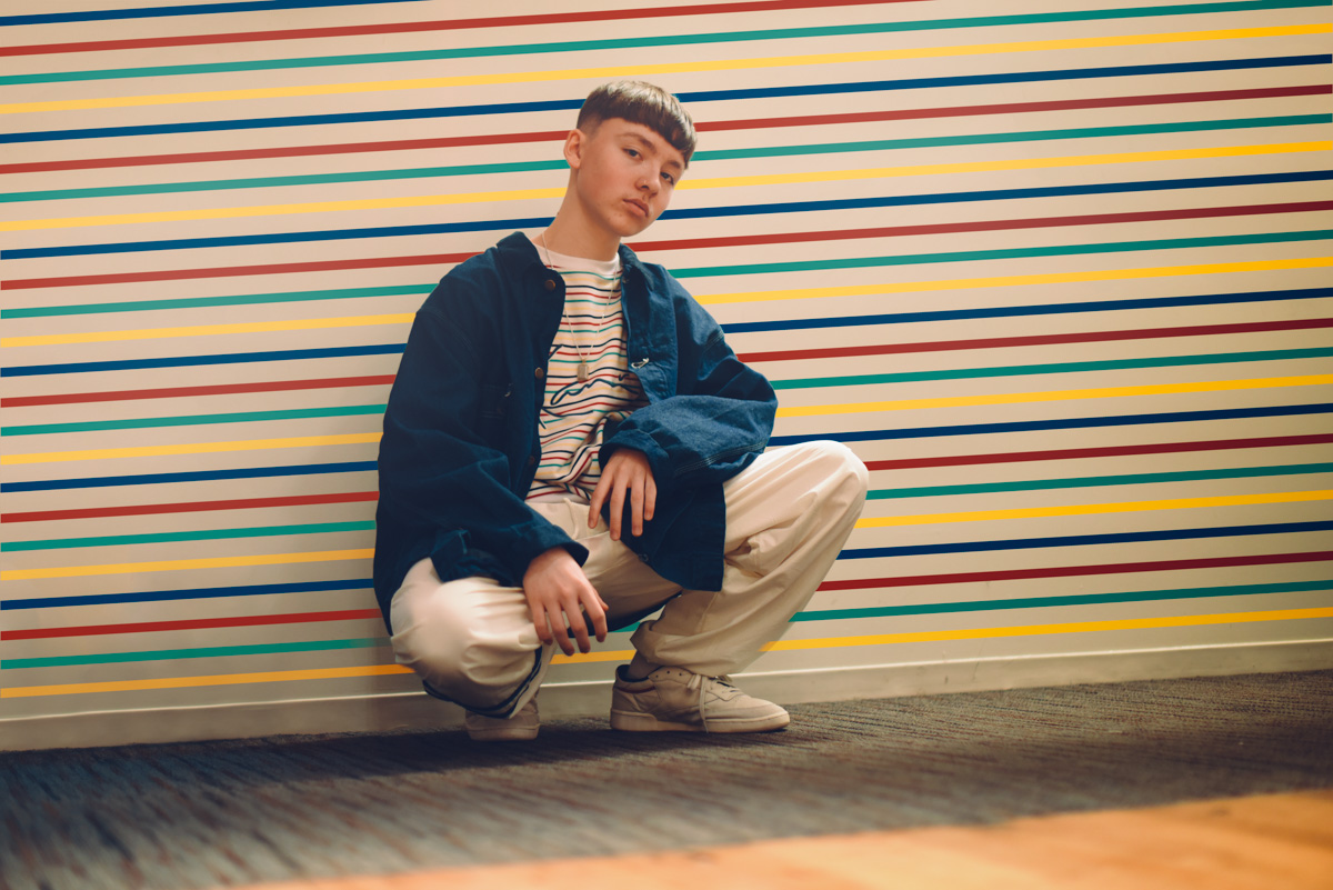 marteen is young confident