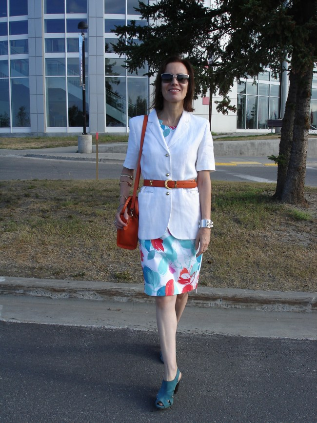 #over40 Casual work look over 40 | High Latitude Style | http://www.highlatitudestyle.com