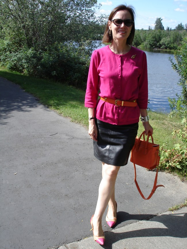 #fashionover40 Casual work look over 40 | High Latitude Style | http://www.highlatitudestyle.com