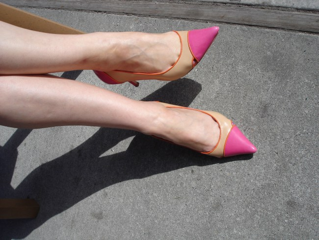 Cap-toe pumps| High Latitude Style | http://www.highlatitudestyle.com