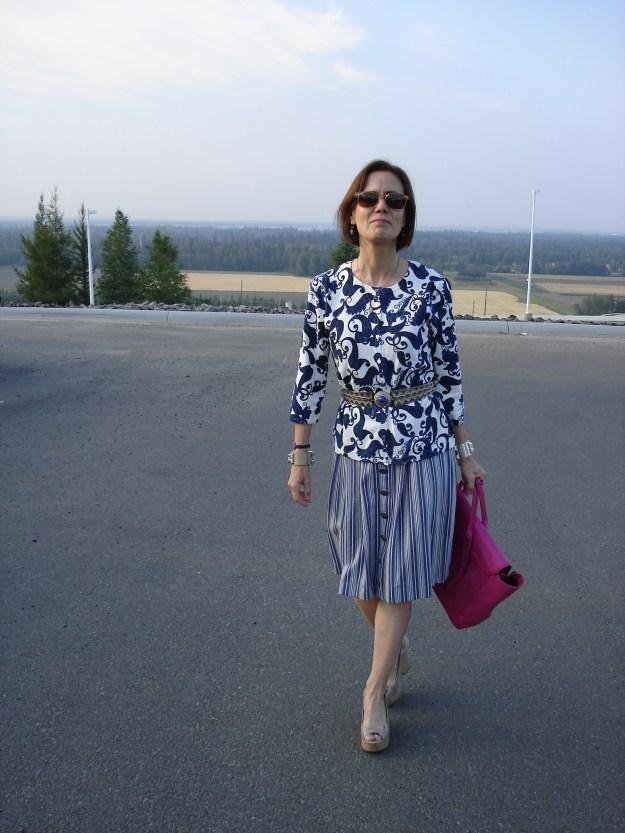 #over40 Dirndl for work   High Latitude Style   http://www.highlatitudestyle.com