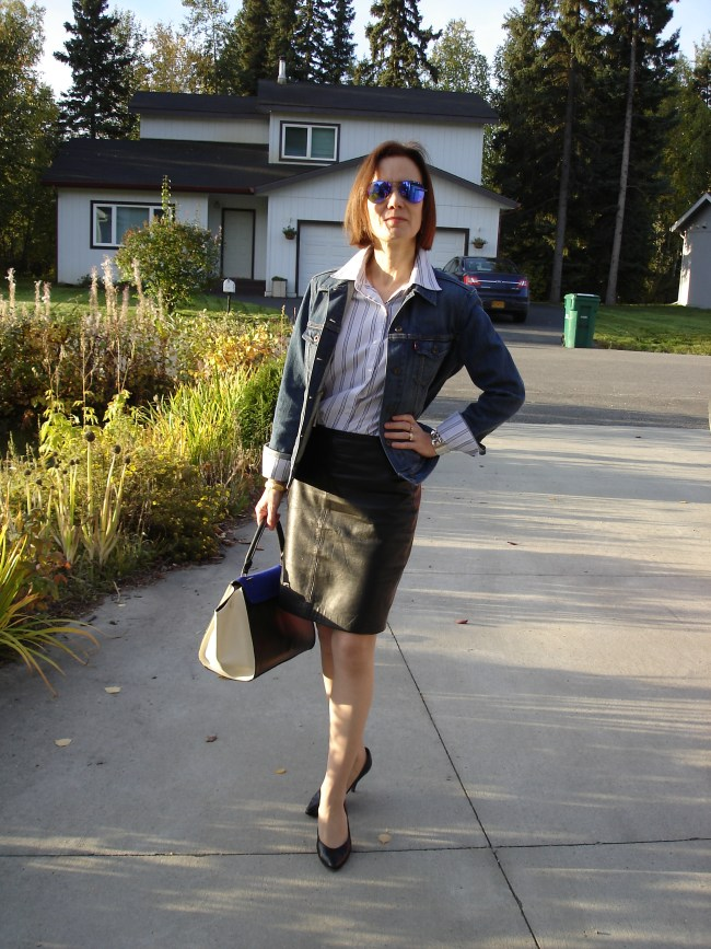 #over40 Polished casual Friday look for women over 40| High Latitude Style | http://www.highlatitudestyle.com