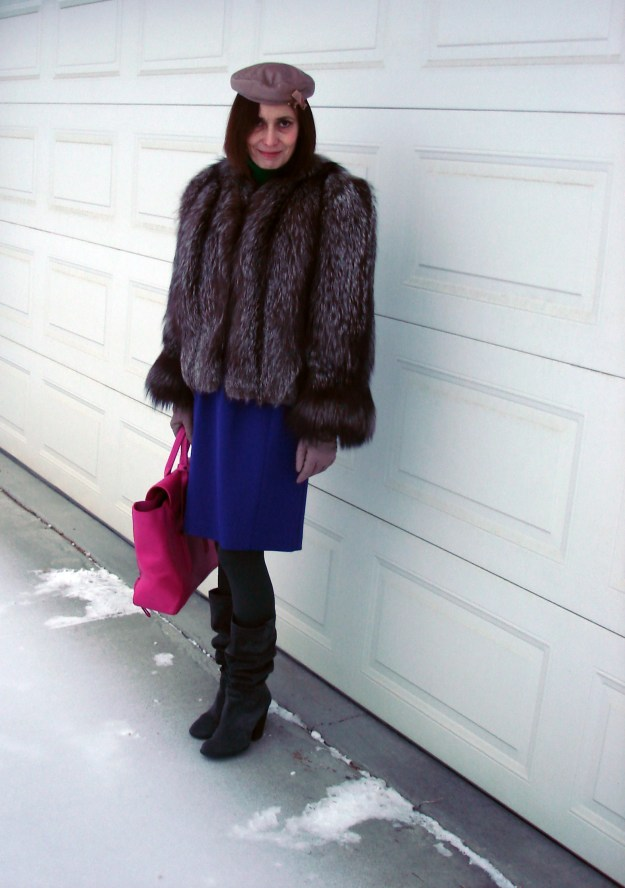 #styleover40 Stylish winter outerwear outfit