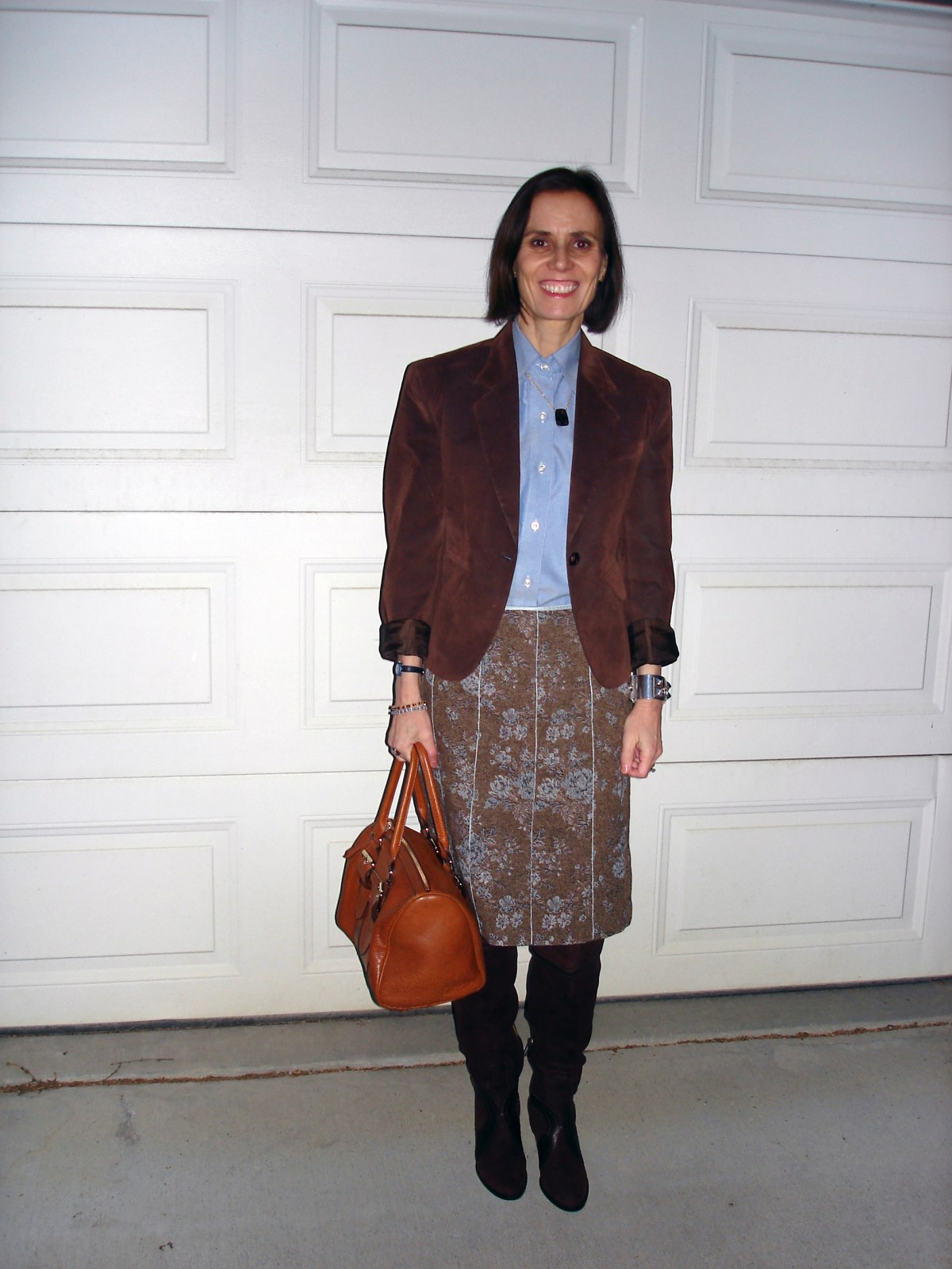 Winter job interview outfit for women