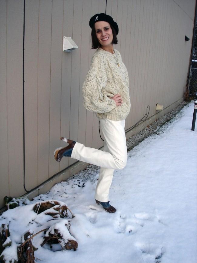#fashionhistory #cableknitsweater