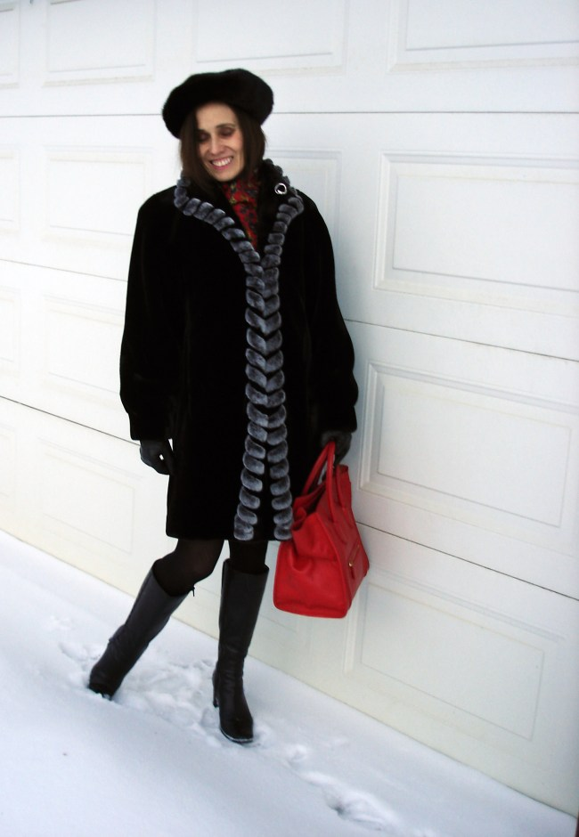 style over 40 Classic winter outfit for mature women