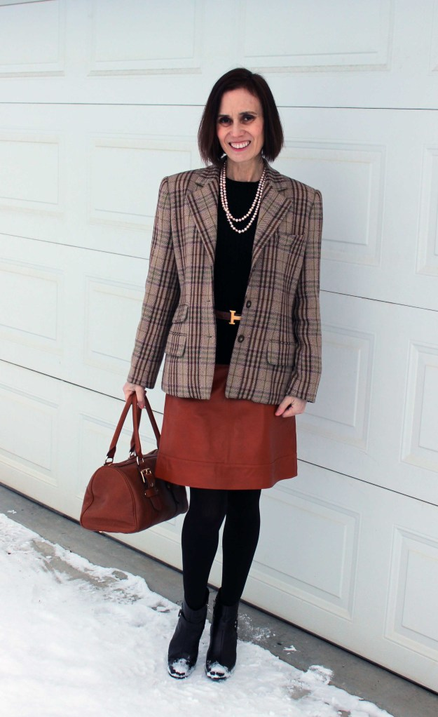 #over40fashion mature business casual work outfit