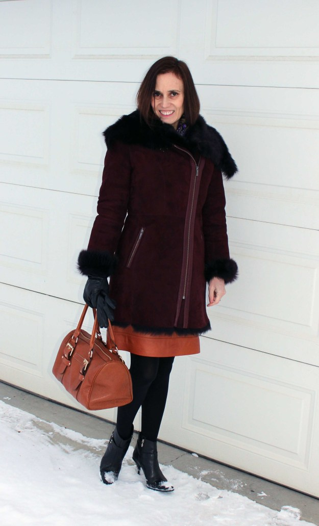 #fashionover50 Mature women winter look