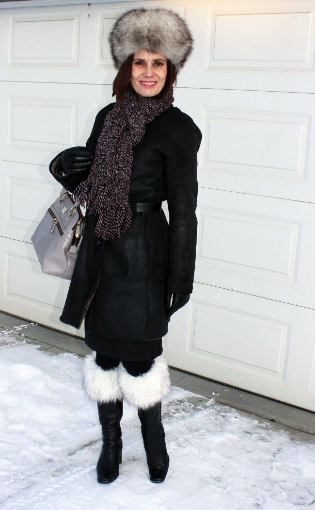 fashionover40 Classic winter outfit for mature women