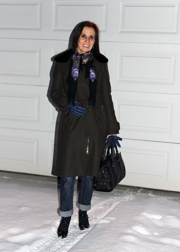 #over40-fashion Mature woman in casual winter look  | High Latitude Style | http://www.highlatitudestyle.com