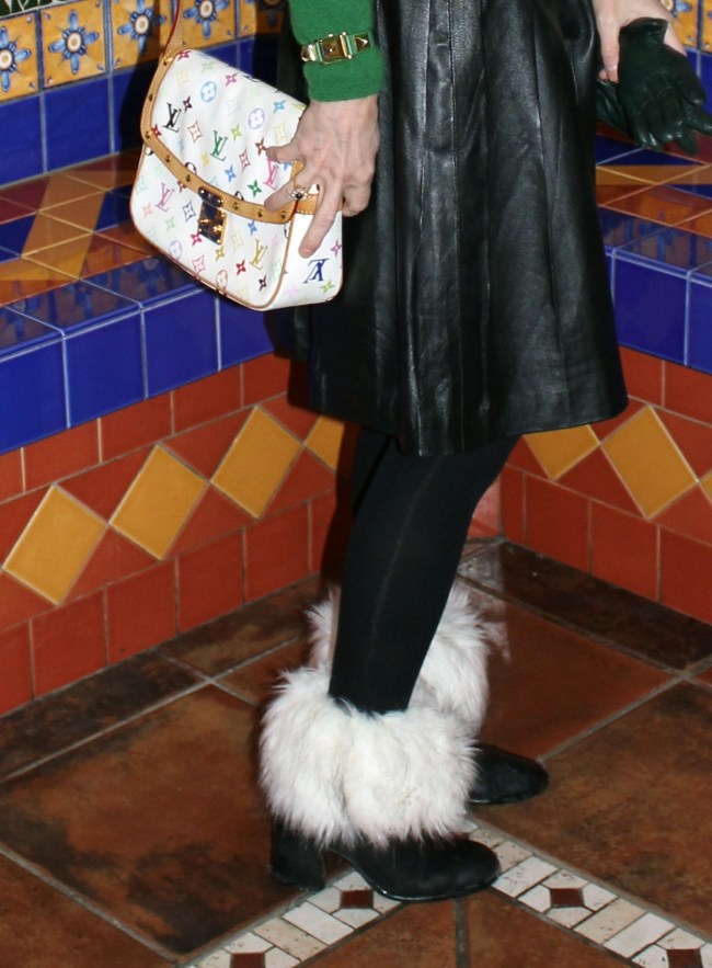 LV multi-color saddle bag
