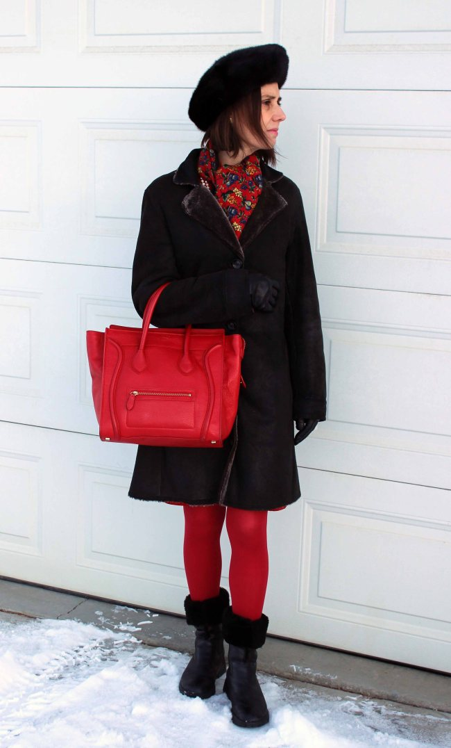 #fashionover50 midlife woman in styled outerwear outfit