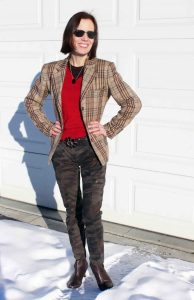 Read more about the article See this Great Camouflage and Tartan Look