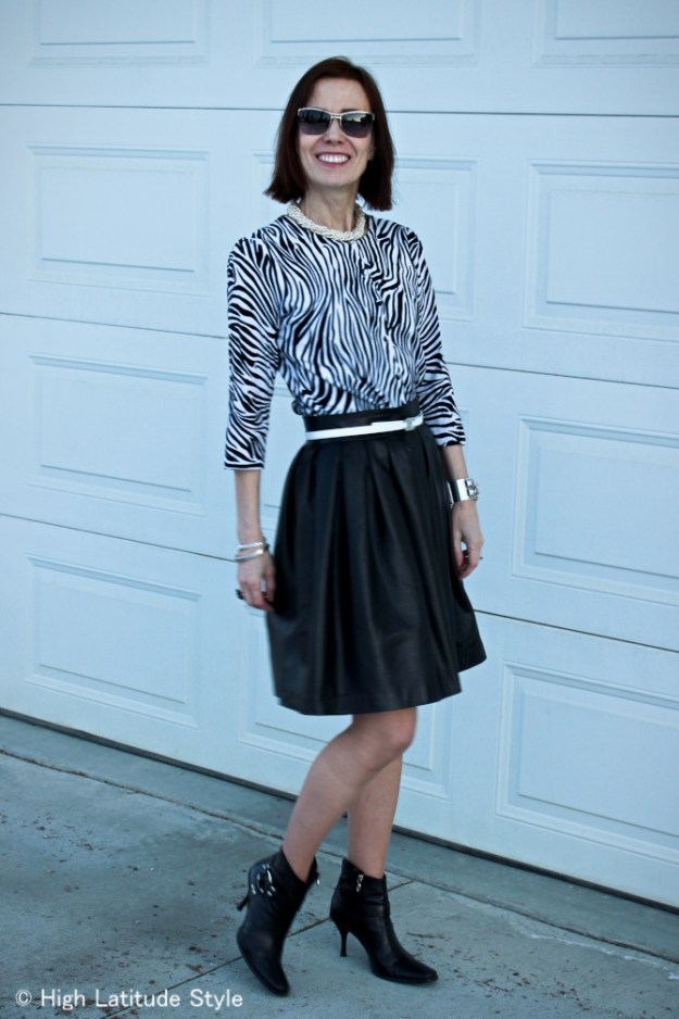 #advancedstyle Black and white outfit
