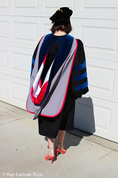 doctoral regalia @ http://www.highlatitudestyle.com