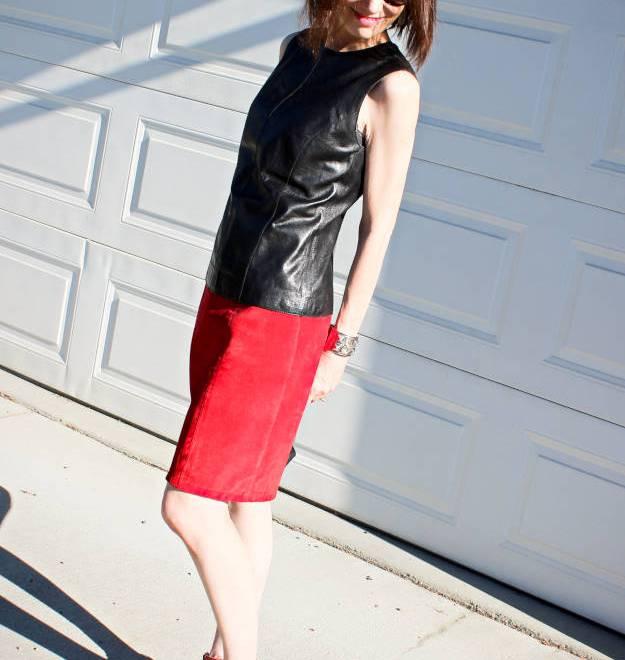 #suedeSkirt #streetstyle #leatherShell #HighLatitudeStyle http://www.highlatitudestyle.com