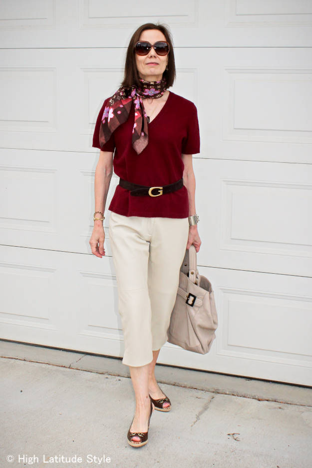 summer outfit with carpi