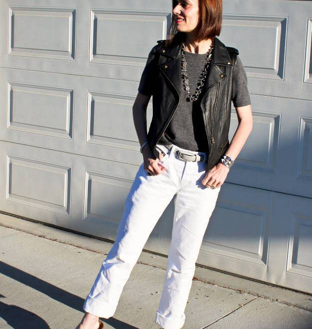 #streetstyle #itShoes #leathervest #HighLatitudeStyle http://www.highlatitudestyle.com