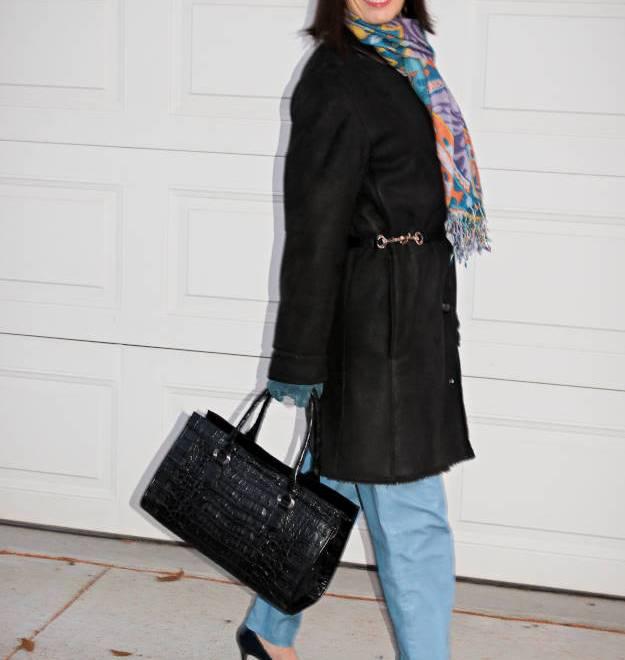 #streetstyle #stylelesson #stylingtips #HighLatitudeStyle #shearling #fedora