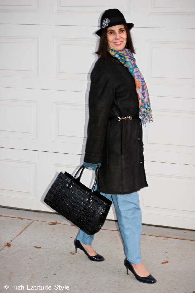 #streetstyle style blogger looking lean in outerwear