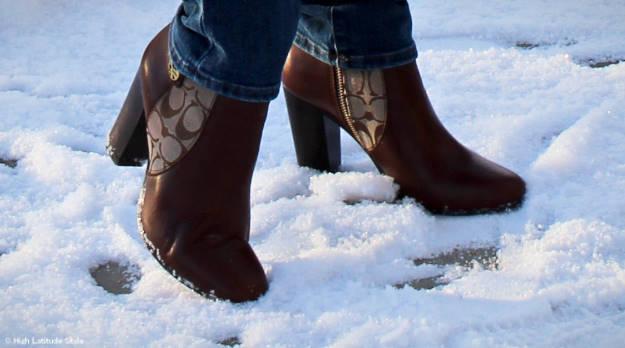 #booties Coach booties