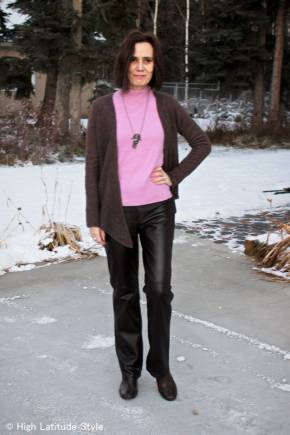 #fashionover40 Winter office look @ High Latitude Style @ http://www.highlatitudestyle.com