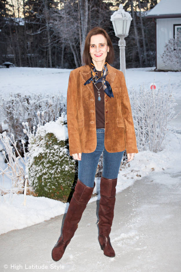 #over40 Layering for a windy winter day   High Latitude Style   http://www.highlatitudestyle.com