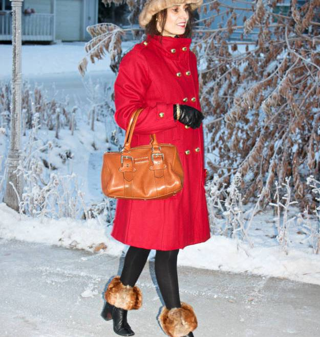 #over40 CClassic peacoat wonter look | High Latitude Style | http://www.highlatitudestyle.com