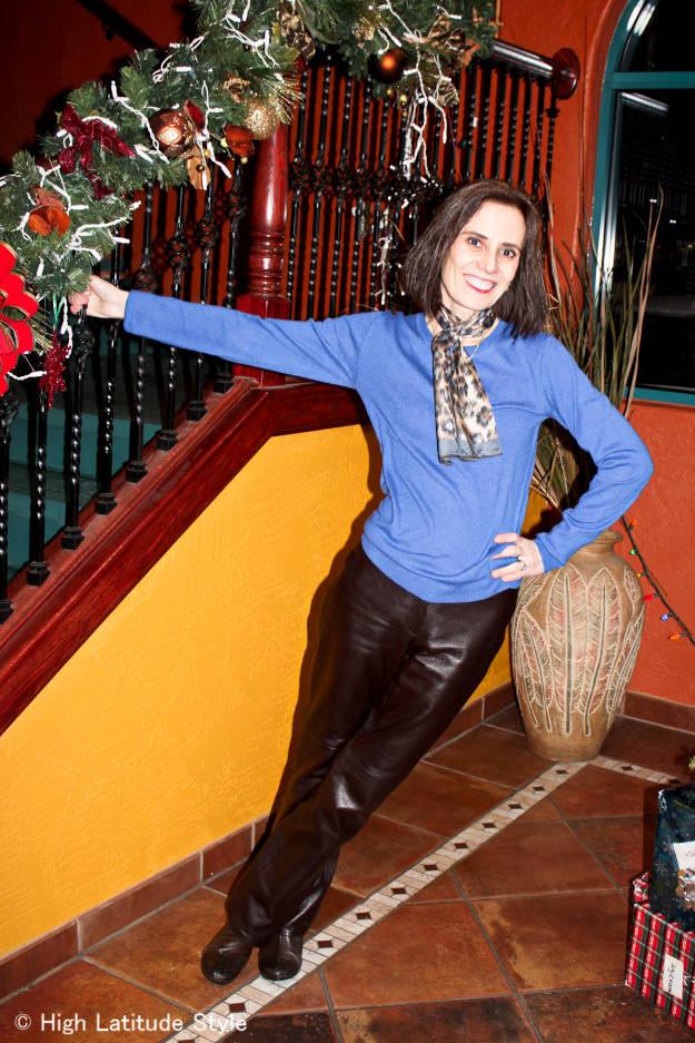 fashion over 40 Having fun High Latitude Style blogger