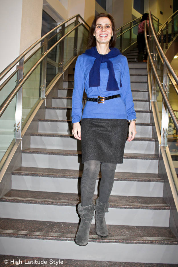 fashionover40 office outfit
